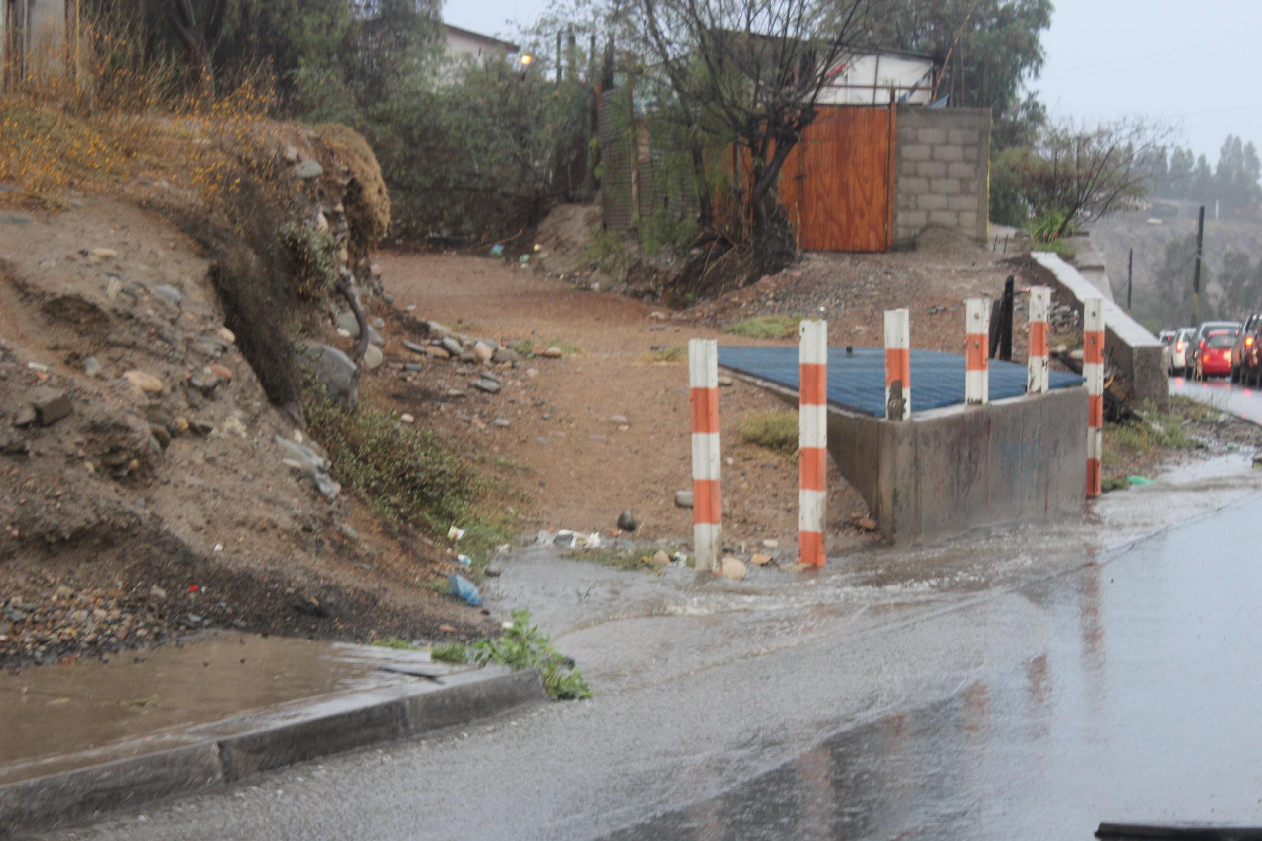 6,5 mm de agua cayó en Vallenar y 22,8 mm en Alto del Carmen