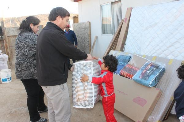 Municipio de Freirina entregó equipamiento a beneficiarios del programa habitabilidad
