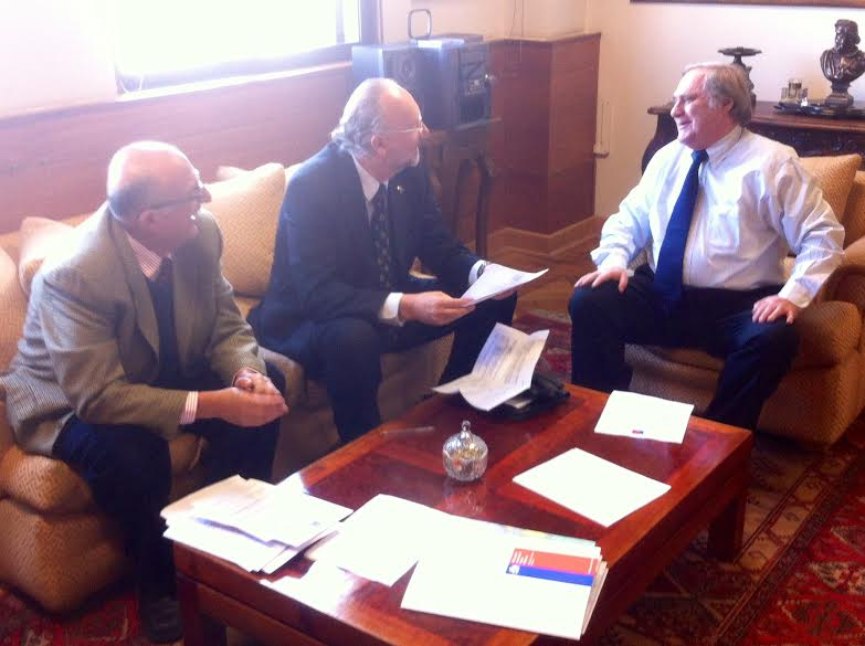 Prokurica planteo a Subsecretario de OOPP temas de infraestructura pendientes en la Región de Atacama