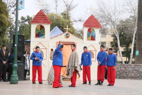 Fundación COANIL  de vallenar homenajeó a nuestra Bandera