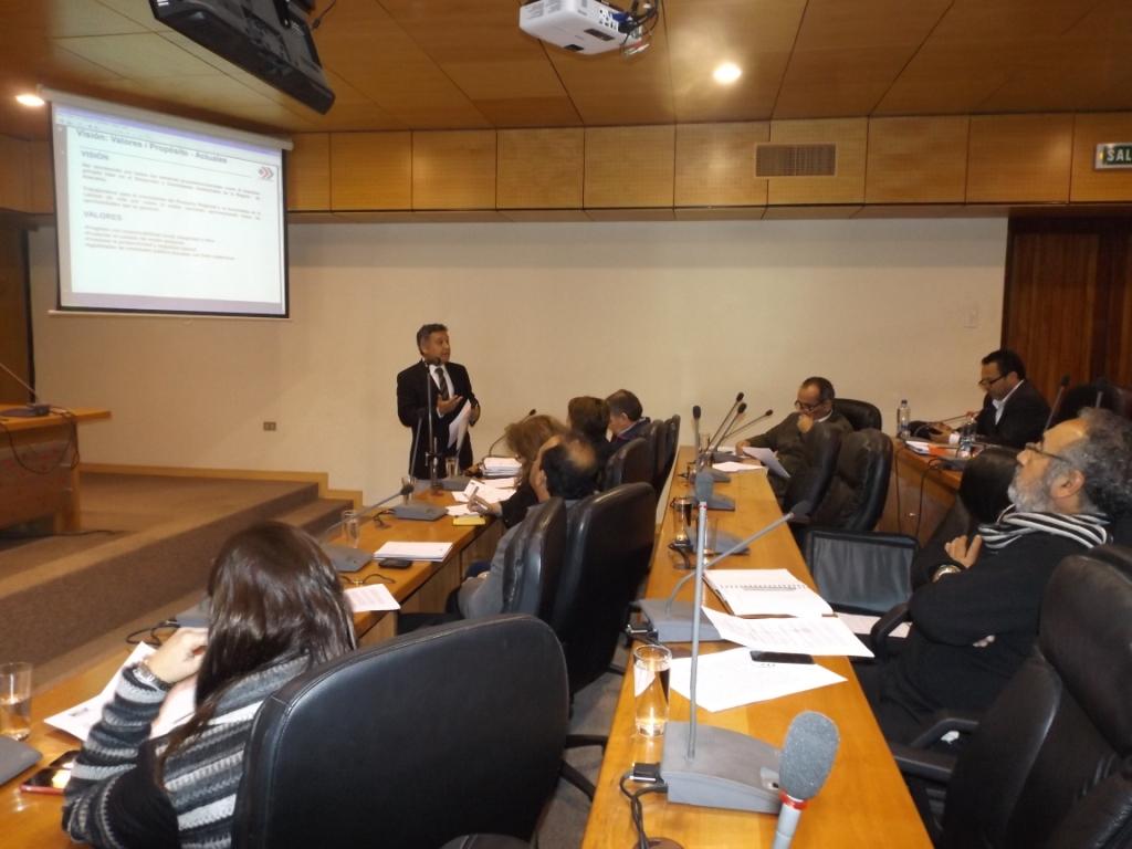 Daniel Llorente presentó ante el CORE la visión y potencialidades de CORPROA