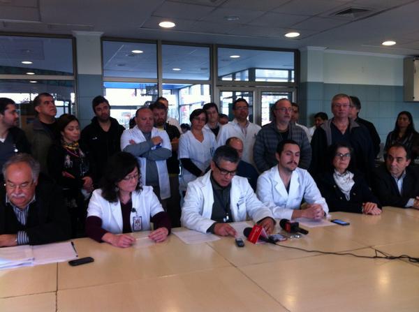 Conozca el petitorio de los médicos del Hospital ante falta de especialistas
