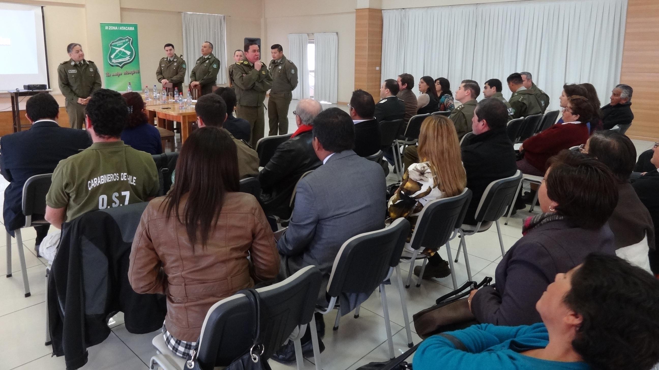 Labor de Tercera Comisaría de Vallenar ha disminuido 32% de los delitos