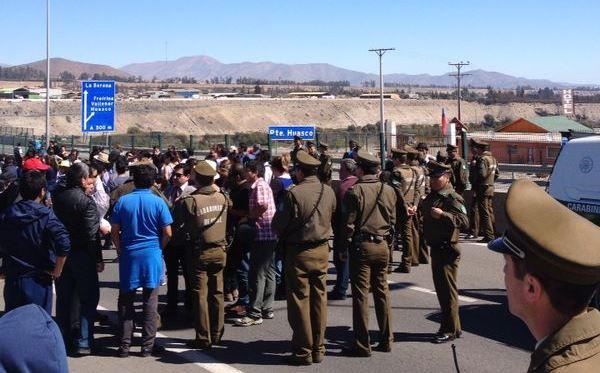 Colegio de Profesores solidariza con dirigente detenido en Vallenar