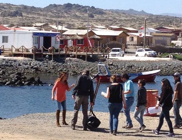 Comenzó grabación de nueva telenovela de TVN en Chañaral de Aceituno