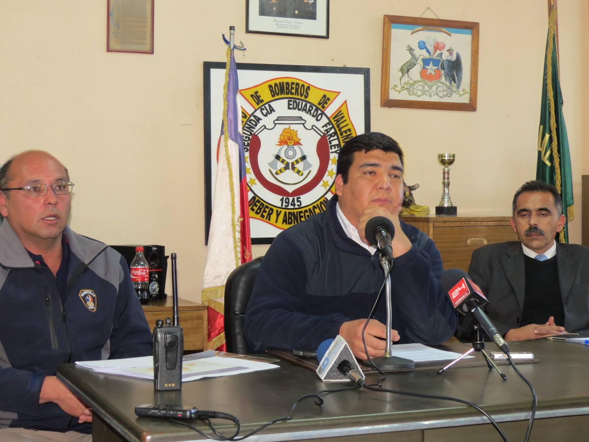Bomberos descarta presencia de pirómano por seguidilla de incendios en Vallenar
