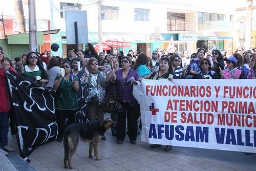Funcionarios Públicos del Huasco piden renuncia de la gobernadora