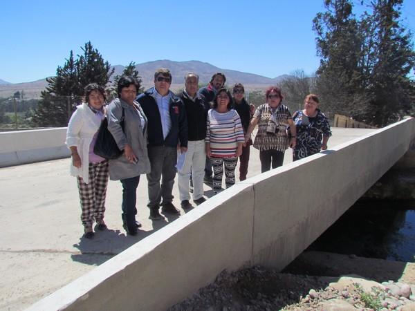 MOP Atacama fiscaliza última etapa de construcción de caminos en la Provincia del Huasco