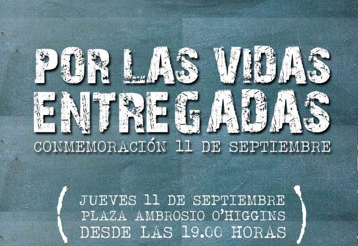 """En Vallenar conmemorarán un nuevo 11 de septiembre """"Por las vidas entregadas"""""""