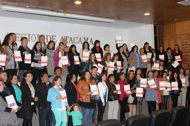 Sercotec entrega  importante beneficios  a mujeres y micro empresarios de Atacama