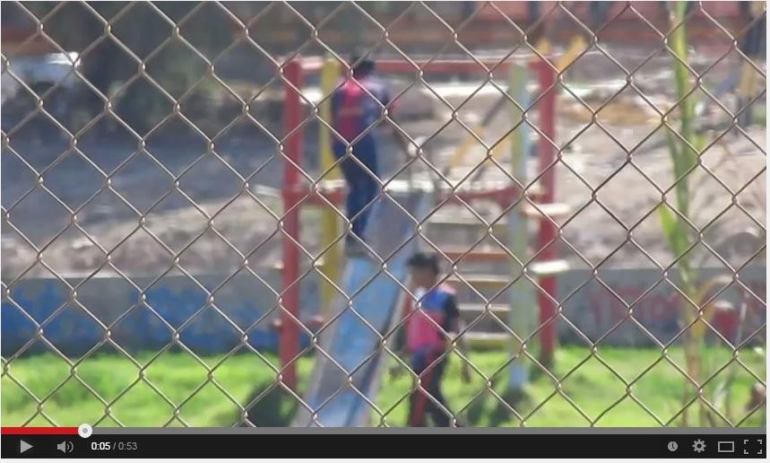 Video muestra a jóvenes destruyendo juegos en Paseo Ribereño de Vallenar