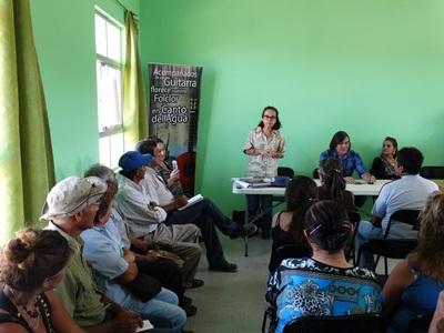 Vecinos de Canto de Agua recibieron visita de servicios públicos de la región