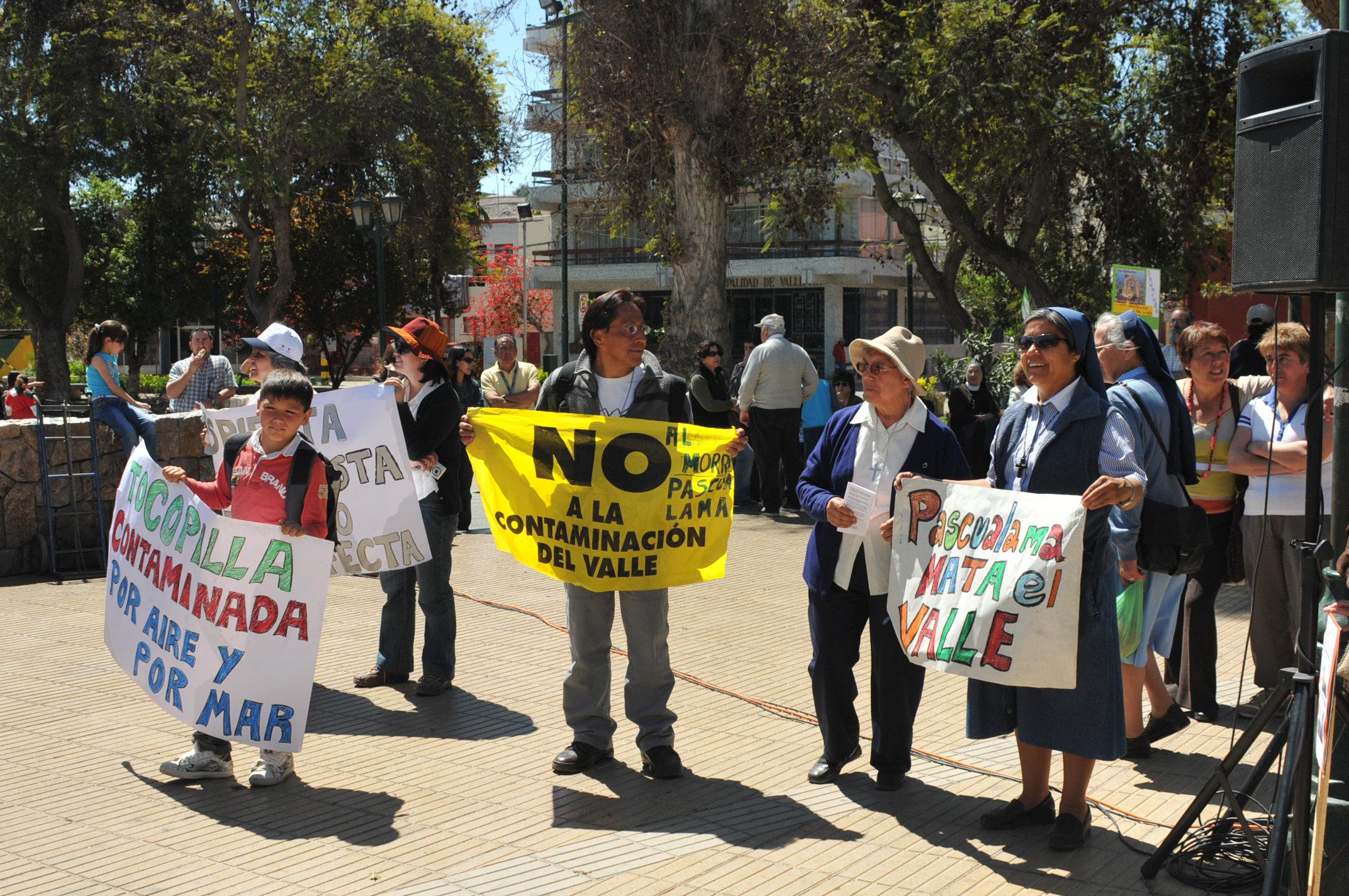 Comunidades del valle del Huasco agradecen a obispo Quintana por su gestión  y compañía en la defensa del agua y la vida