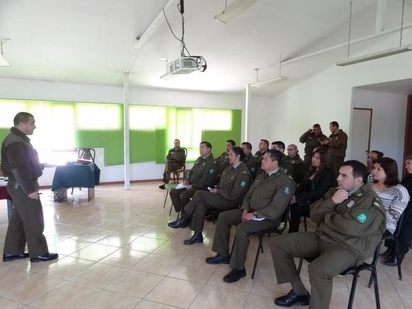 Funcionarios de CENCO se capacitan para optimizar tiempos en emergencias policiales