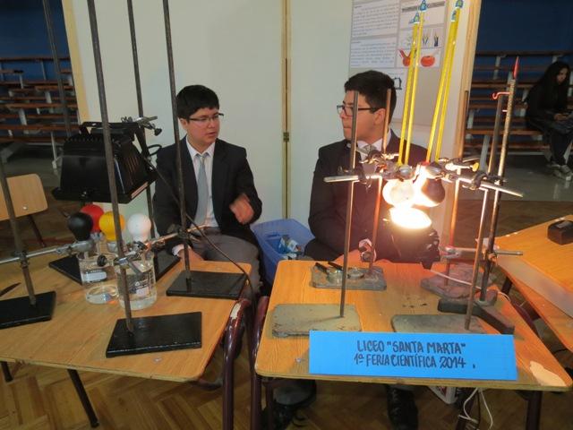 Alumnos de Vallenar comparten experiencias en Feria Científica Escolar organizada por el Liceo Pedro Troncoso Machuca