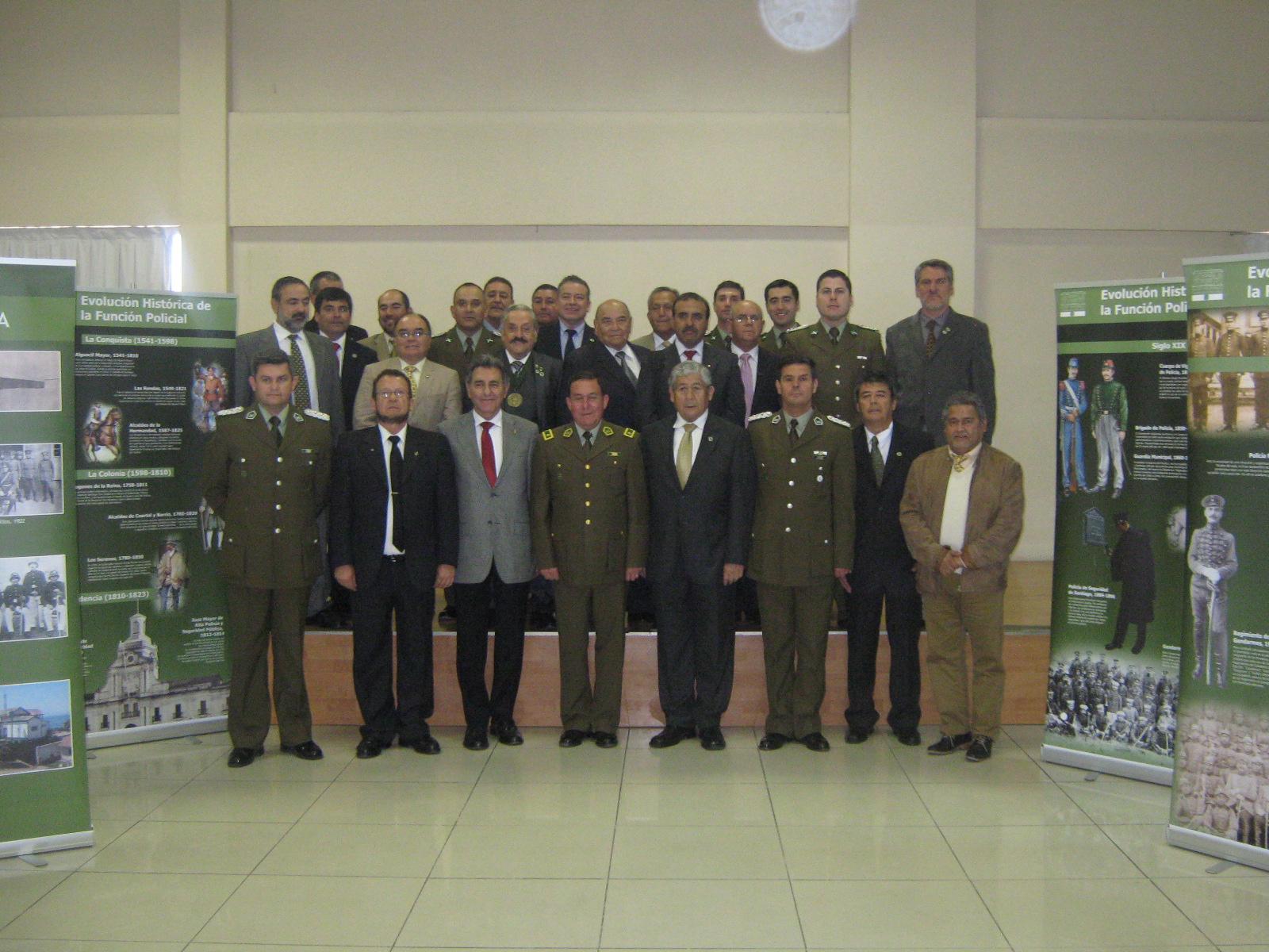 Círculo de amigos de Carabineros celebraron nuevo congreso en Vallenar