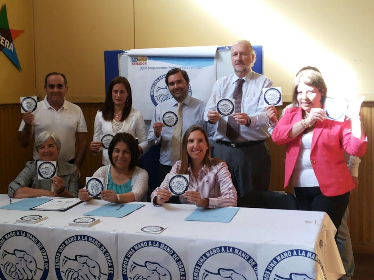 """Prokurica lanzó campaña: """"Demos una Mano, a la Mano de Obra de Atacama"""""""