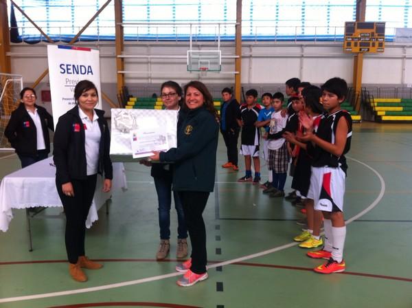 SENDA Previene de Vallenar concluye exitoso torneo de baby fútbol