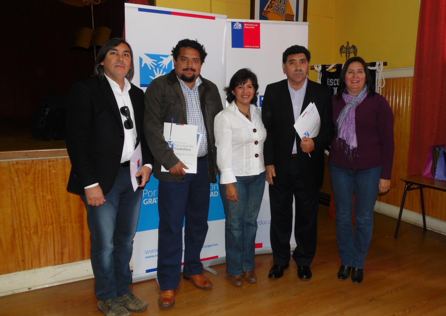 Seremi de Gobierno destacó participación en diálogo ciudadano de la Reforma Educacional en Vallenar