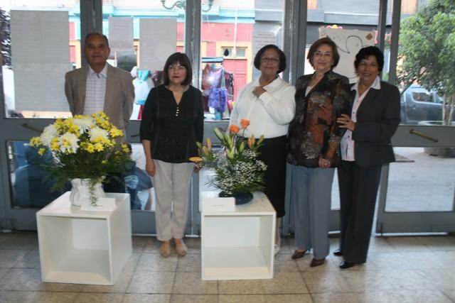 Hasta este viernes se mantendrá exposición de arreglos florales en Centro Cultural de Vallenar