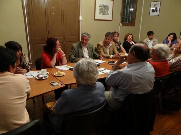 Reunión politica con subsecretario de agricultura