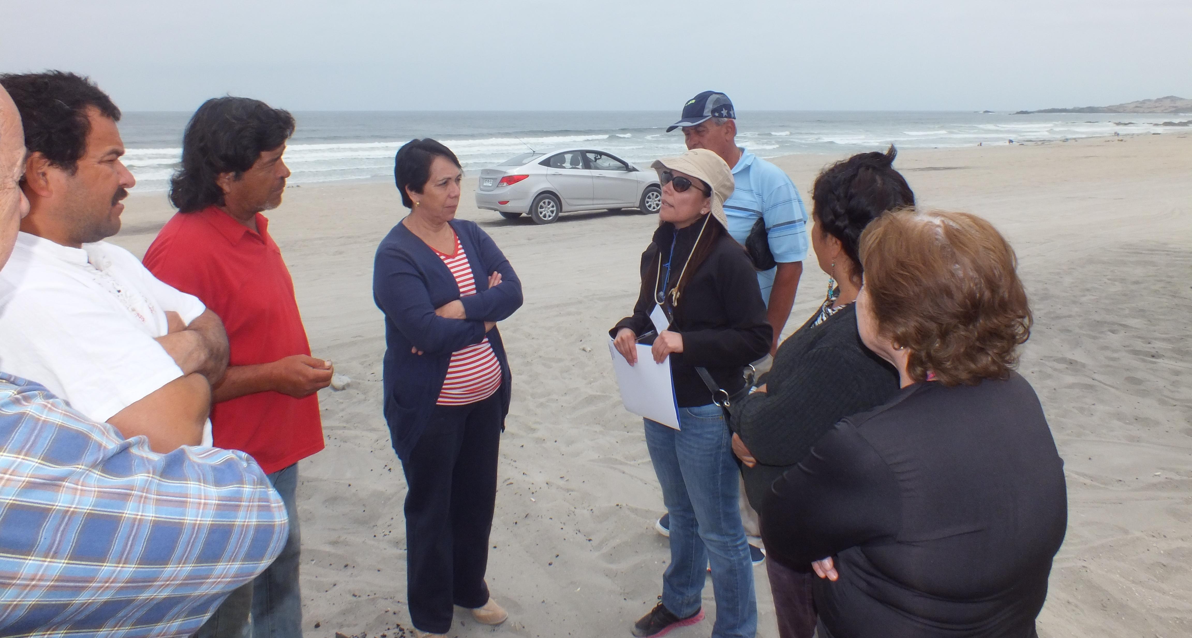 Este fin de semana concluye en Carrizal Bajo el censo a ocupaciones ilegales del borde costero