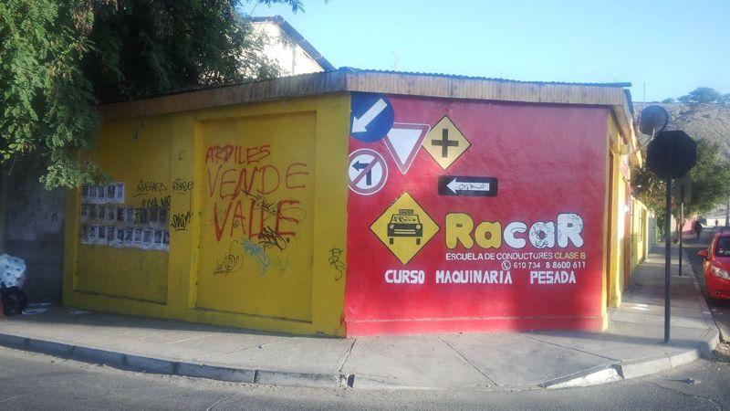 Repudian ataque a escuela de conductores  de presidente distrital  de RN en Vallenar