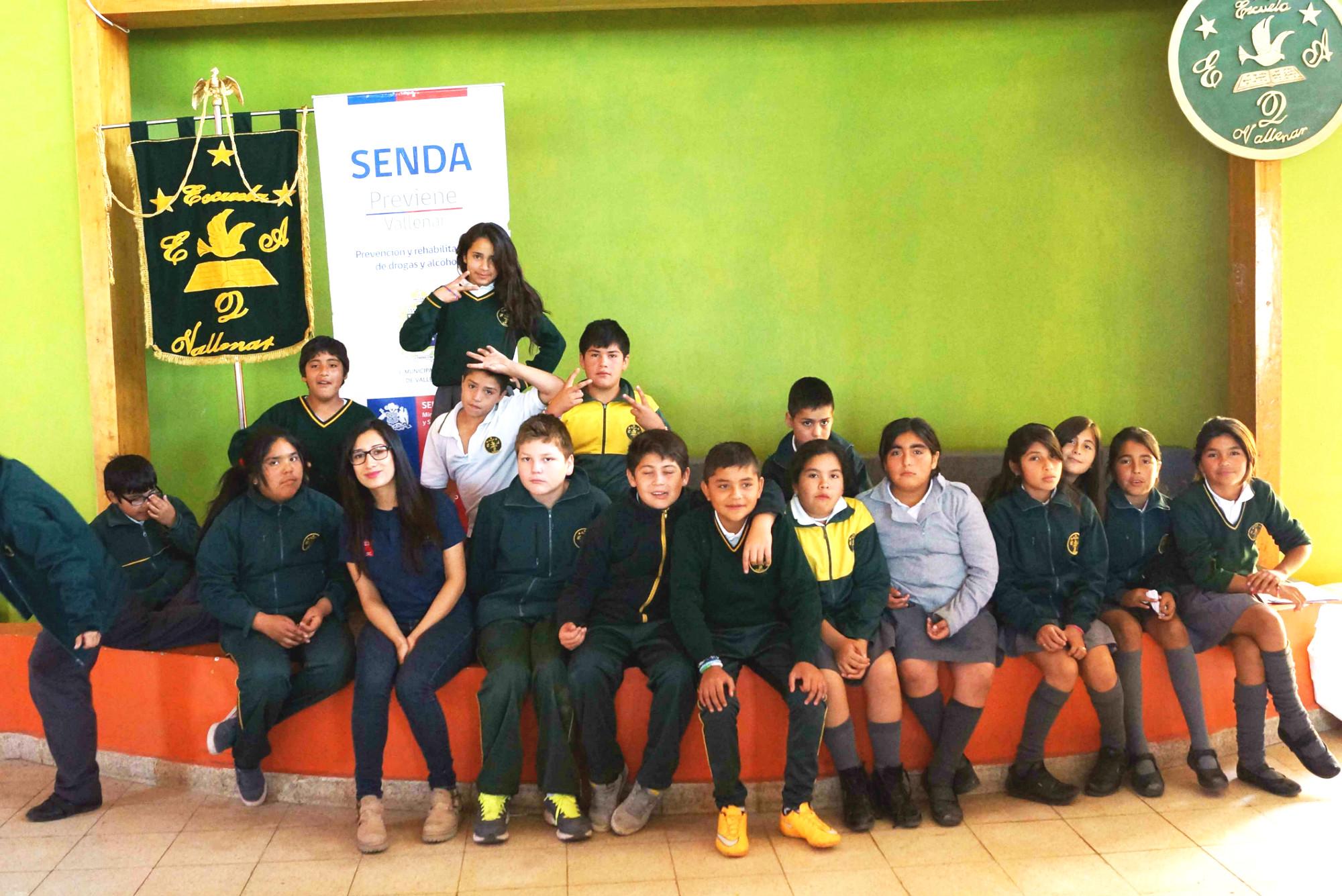 Escuela Edmundo Quezada de Vallenar culminó año con Senda Previene