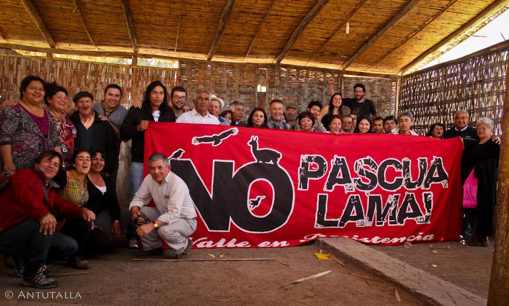 """Asamblea Guasco Alto: """"Exigimos Cierre Definitivo del Proyecto Pascua Lama y condena de Barrick Gold"""""""