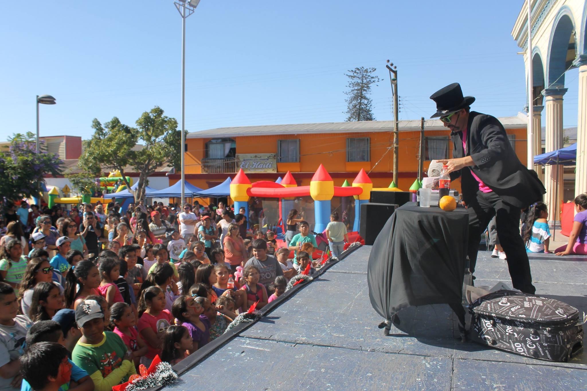 Municipio de Freirian celebra Navidad a los pequeños