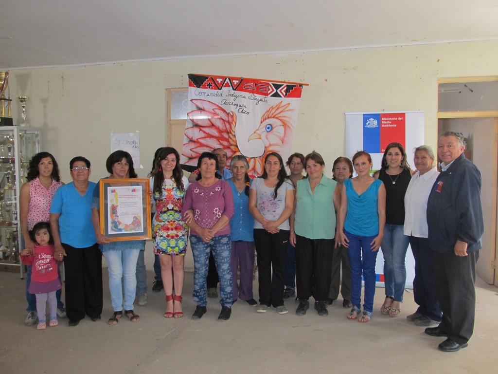 Familias de  Comunidad Indígena Diaguita de Chanchoquin Chico cuentan con termos solares