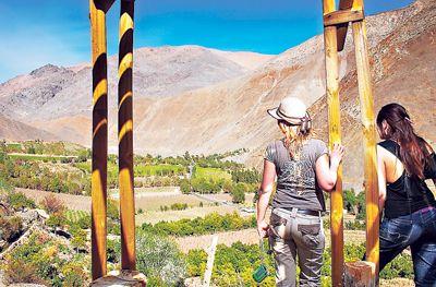 Proyecto incorpora concepto de turismo sustentable en Alto del Carmen