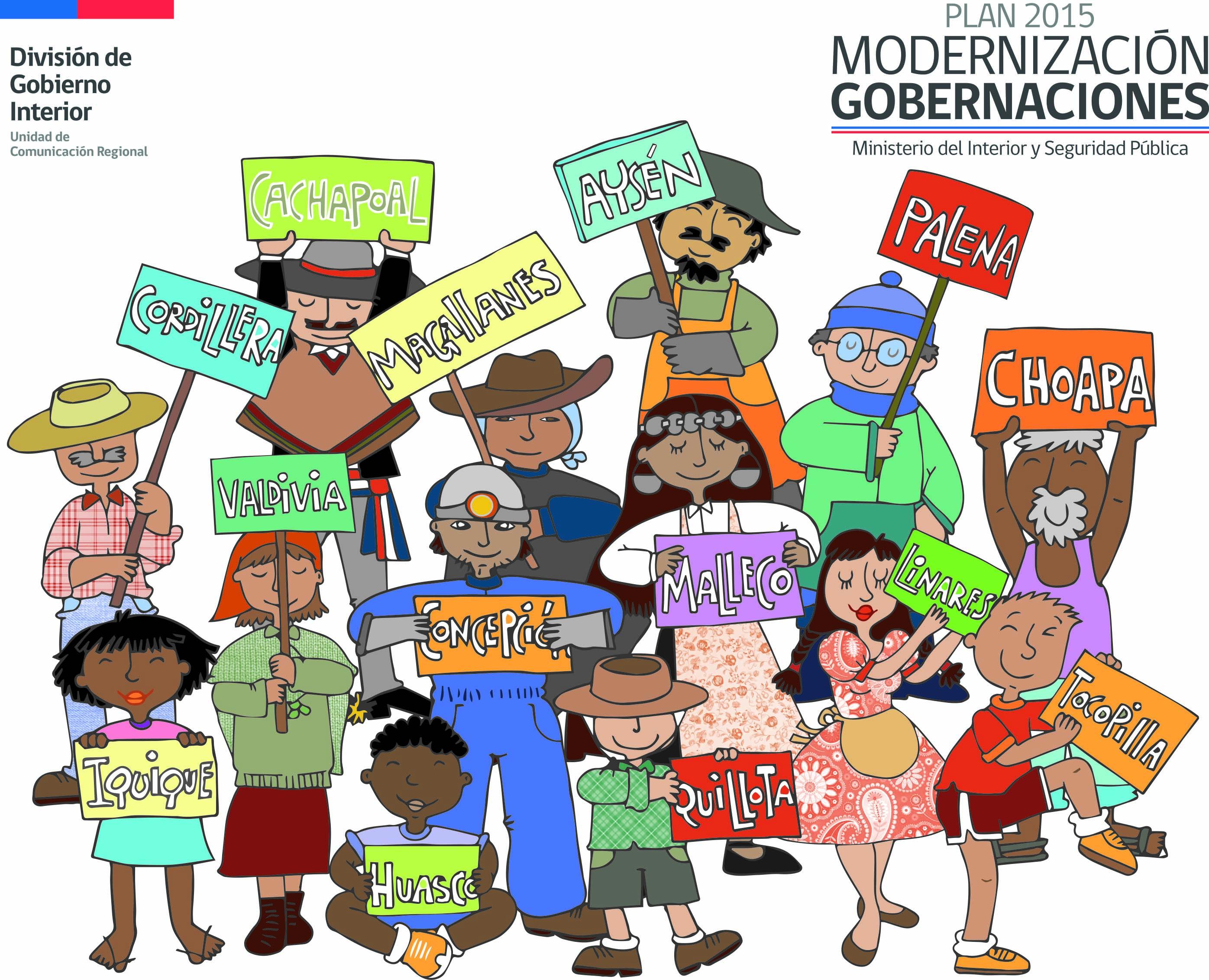 Plan de Modernización 2015: Contribuir a la disminución de la inequidad territorial y acortar la brecha social