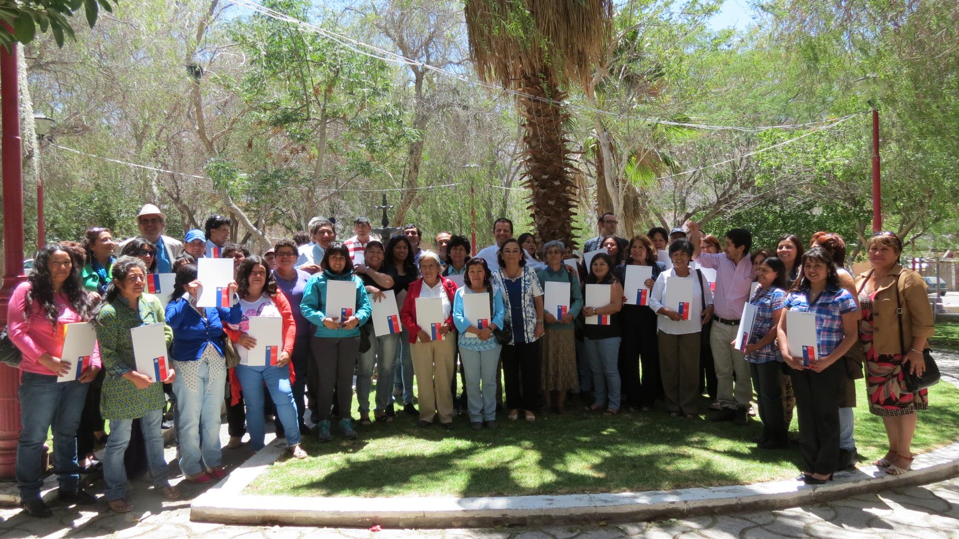 Familias de Alto del Carmen recibieron  53 subsidios habitacionales del Minvu