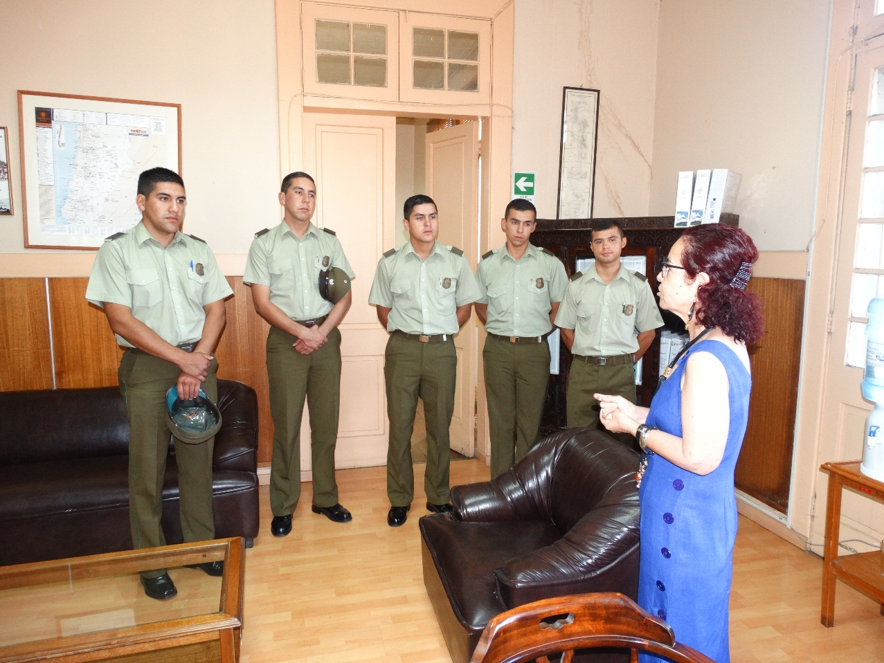 Llega nuevo contingente de carabineros a la provincia de Huasco