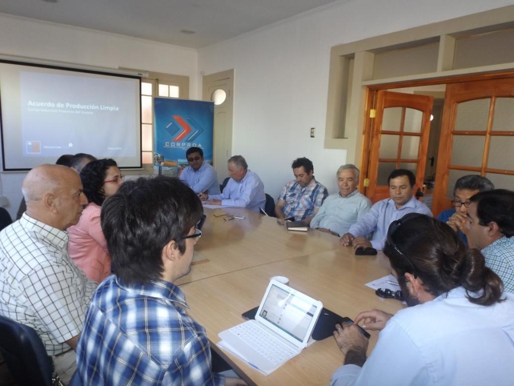 Socios de CORPROA en el Valle del Huasco dialogan sobre Acuerdo de Producción Limpia