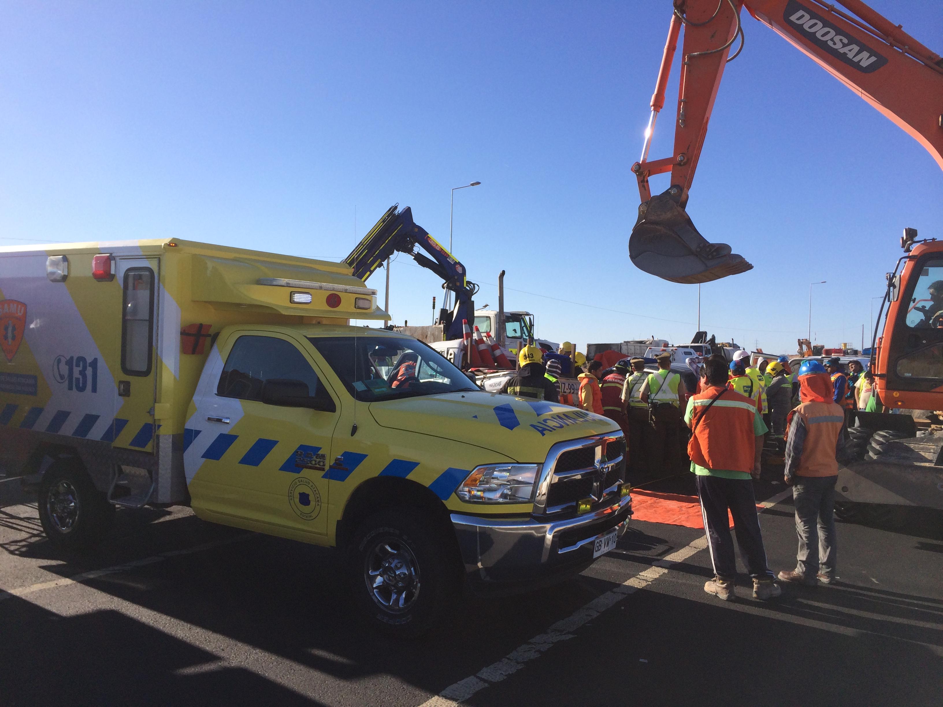 En 34,93% disminuyen accidentes de tránsito en Atacama