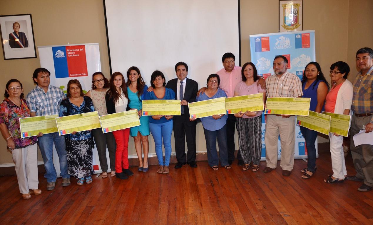 Entregan recursos para que organizaciones del Huasco desarrollen proyectos medio ambientales