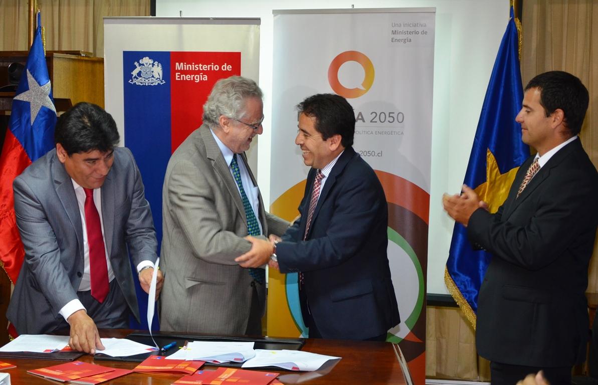 Atacama se convierte en primera región del país que suscribe convenio con ministerio para crear Comisión de Desarrollo Energético a nivel local