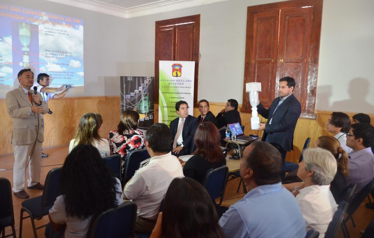 Gobierno Regional financiará proyecto para evaluar  calidad del aire en Huasco y otras comunas de Atacama