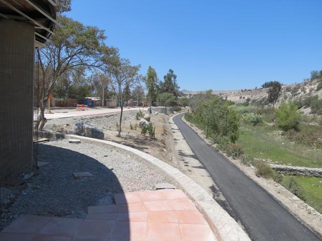 Paseo Ribereño tiene 80% de avance y se estima que esté para abril