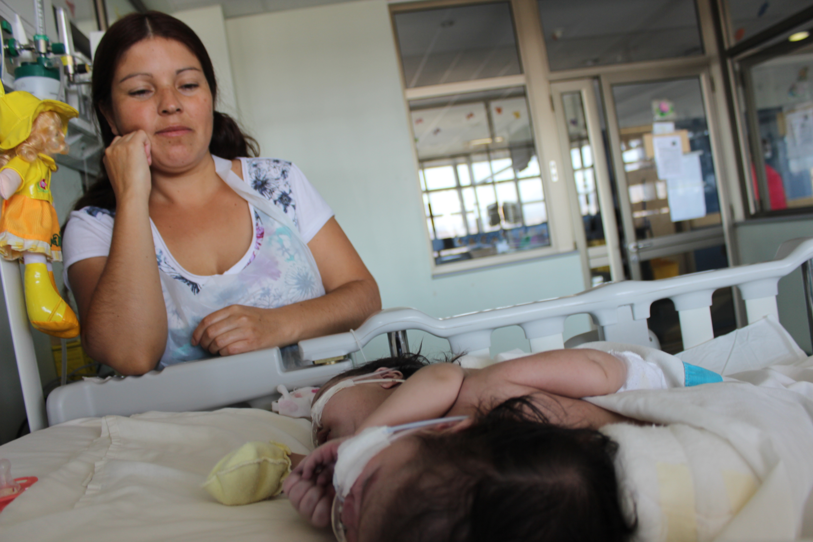 El difícil presente de las siamesas vallenarinas Amanda y Anaís