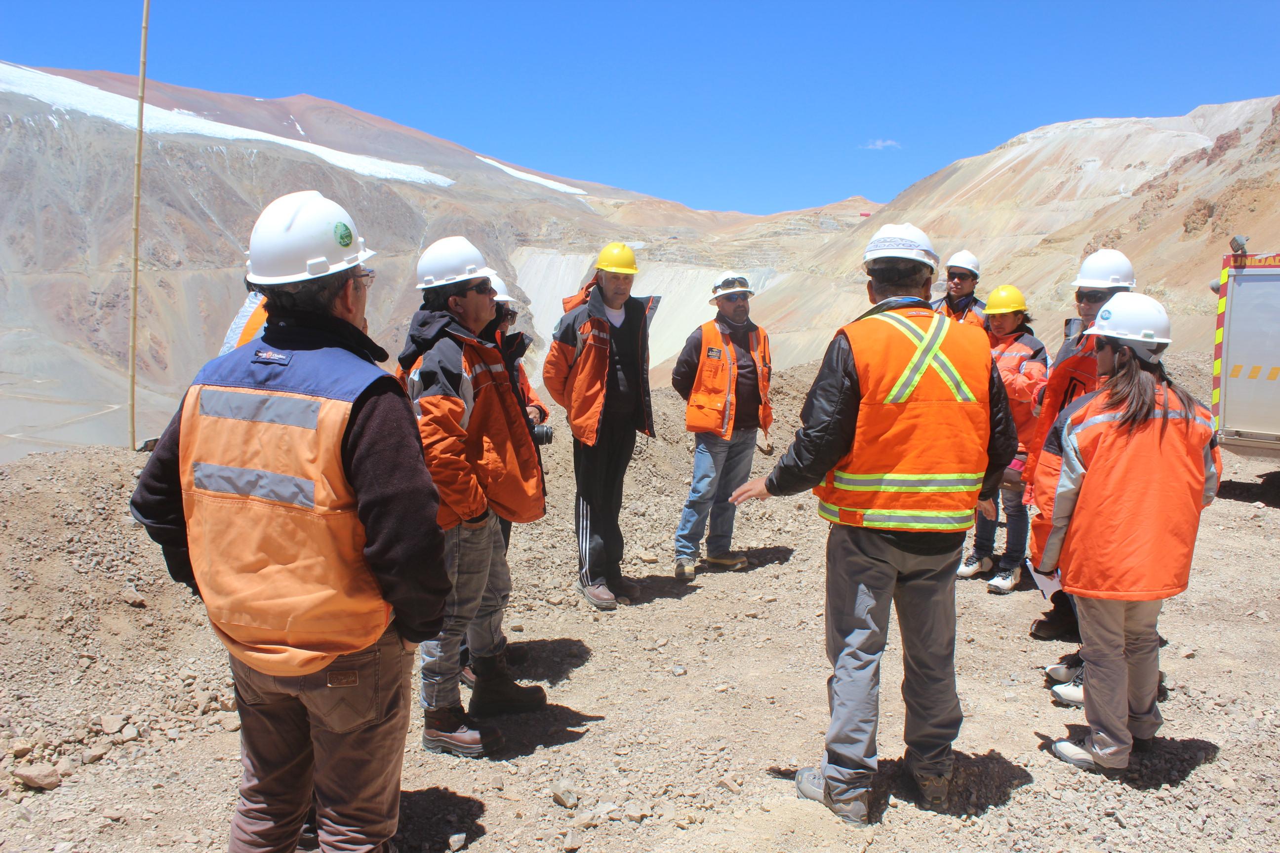 Pascua-Lama permitirá visitar glaciares y glaciaretes en programa de visitas para las comunidades