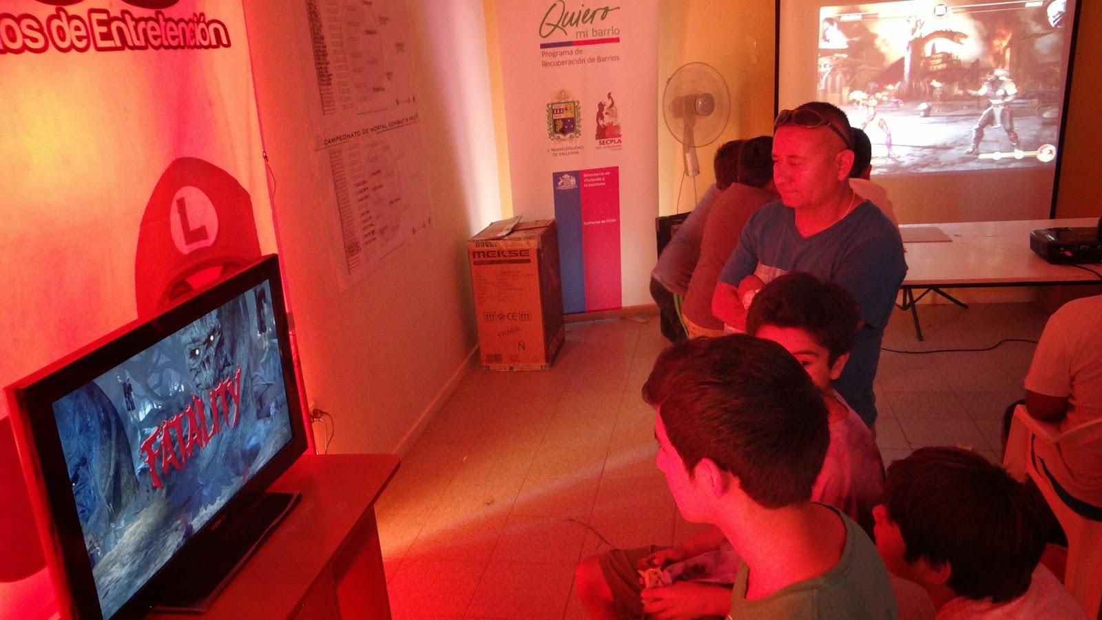 Gran participación tuvo torneo de play station en Vallenar