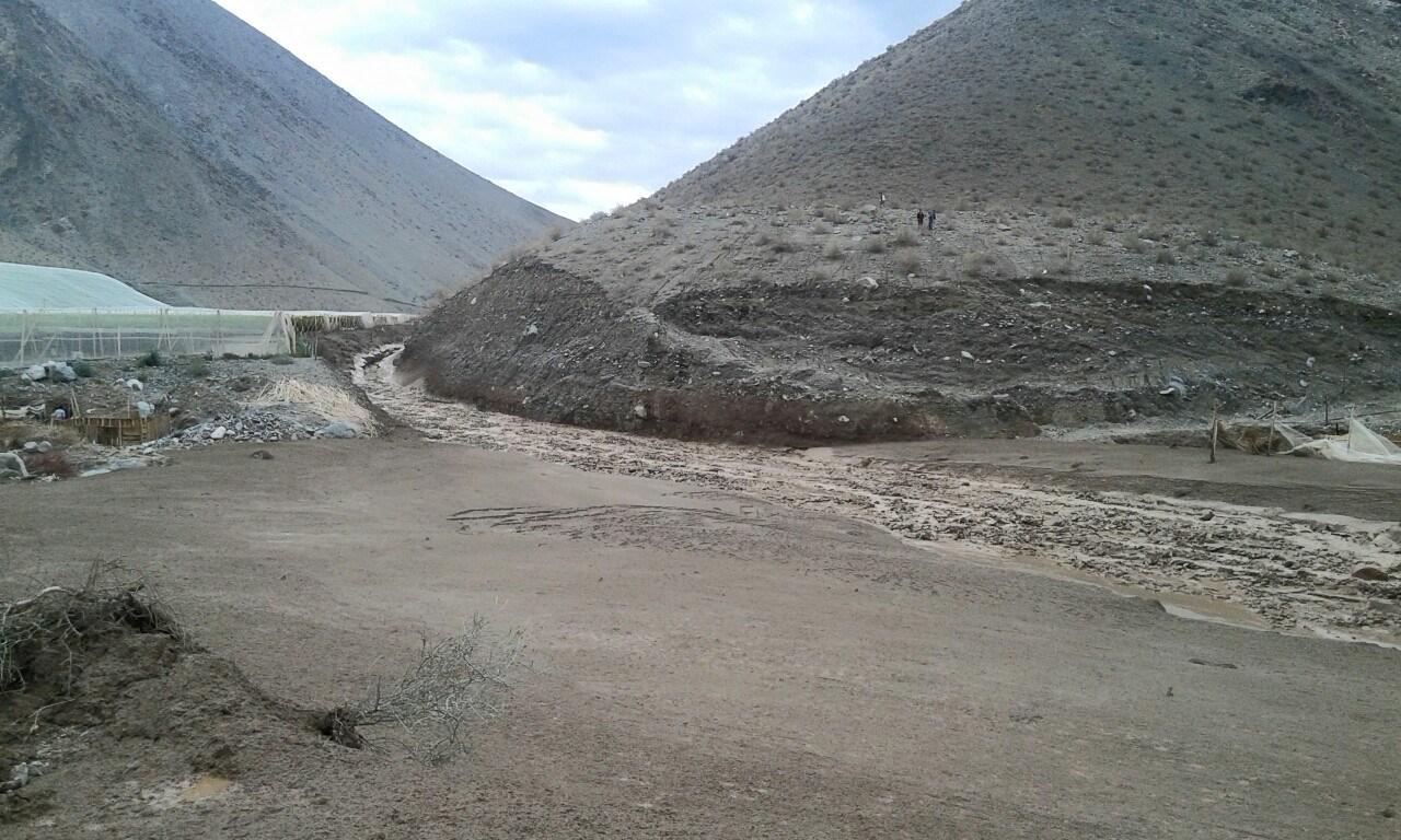Sernageomin advierte alta probabilidad de derrumbes y aluviones en Atacama y Coquimbo