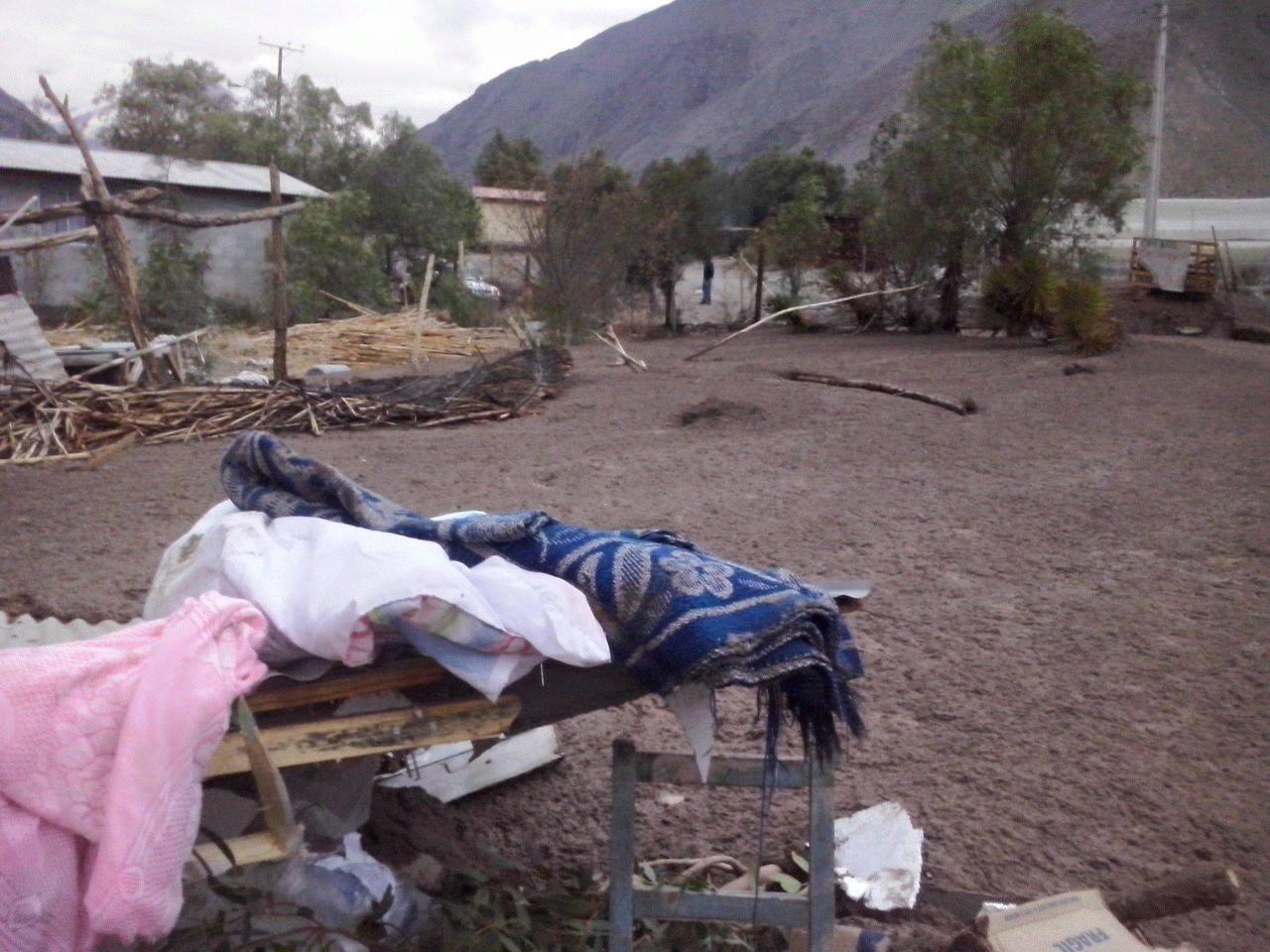 Militares llegan a Alto del Carmen para ayudar a familias afectadas por aludes