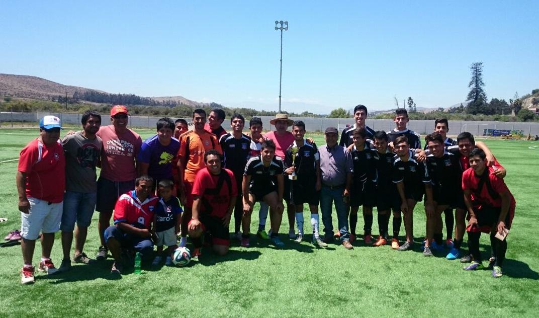 Altiplano sur de Freirina disputó amistoso con Colo Colo sub 21 de Copiapó