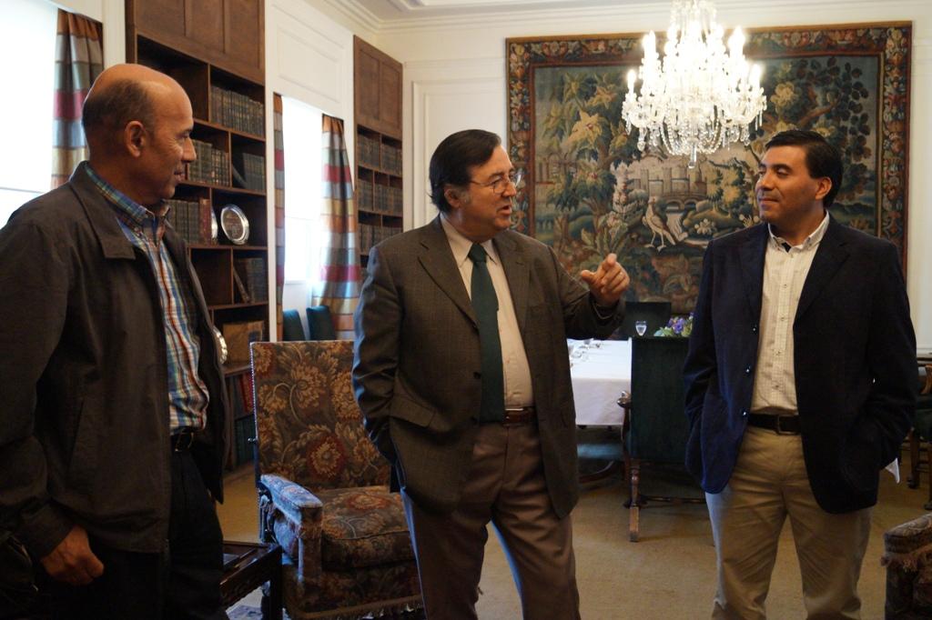 Junta de Vigilancia del Huasco se reúne con la Sociedad Nacional de Agricultura