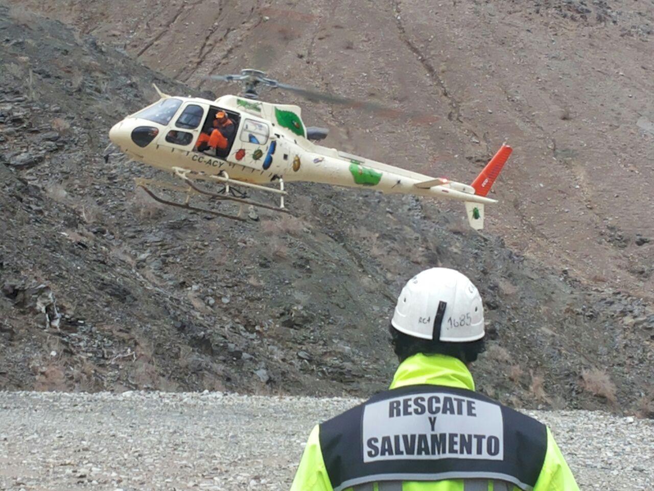 Turista brasileño se extravía en sector de Piedras Juntas en Alto del Carmen