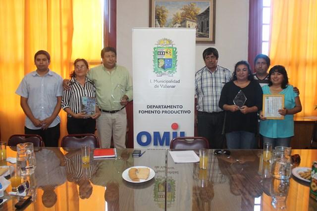 Reconocen gran labor realizada por OMIL vallenarina durante 2014